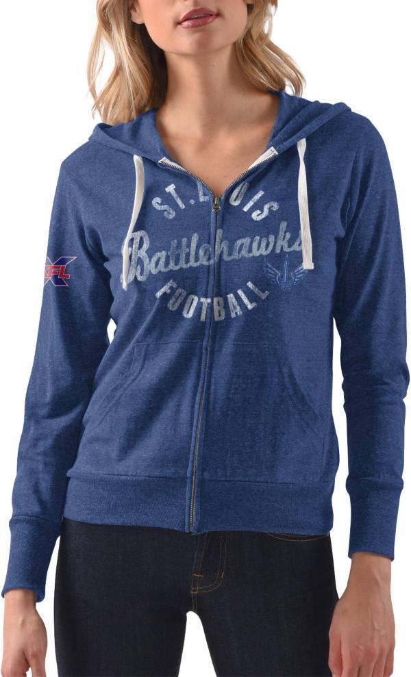 Touch by Alyssa Milano Women's XFL St. Louis BattleHawks Royal Full-Zip Hoodie product image