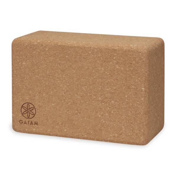 Gaiam Studio Select Cork Yoga Block product image