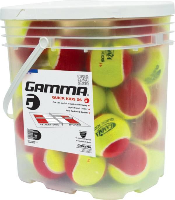 GAMMA Quick Kids 36' Balls - 24 Ball Bucket product image