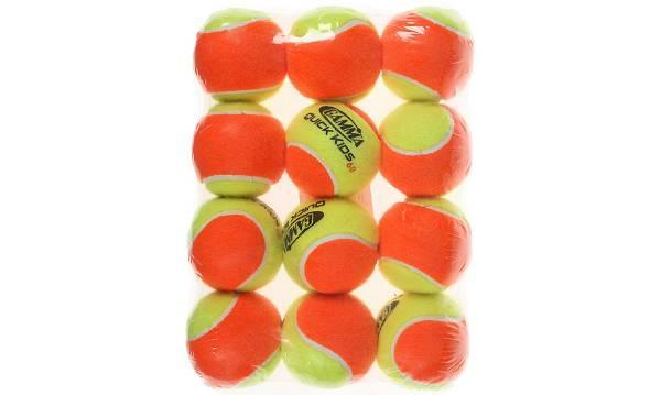 GAMMA Quick Kids 60' Tennis Balls – 12 Ball Pack product image