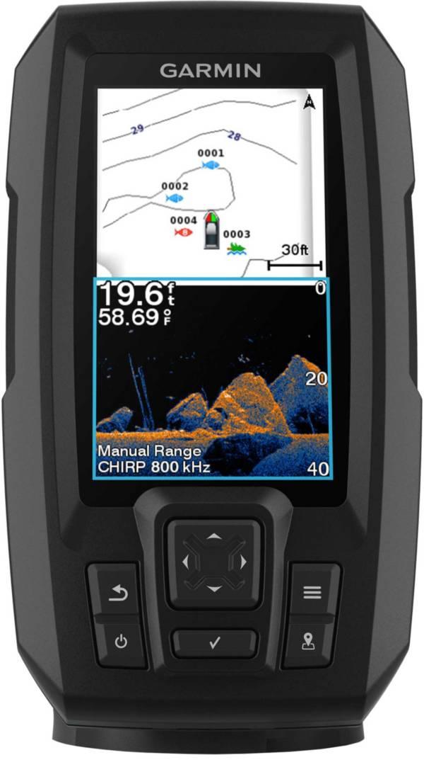 Garmin STRIKER Vivid 4cv Fish Finder with GT20-TM Transducer (010-02550-00) product image