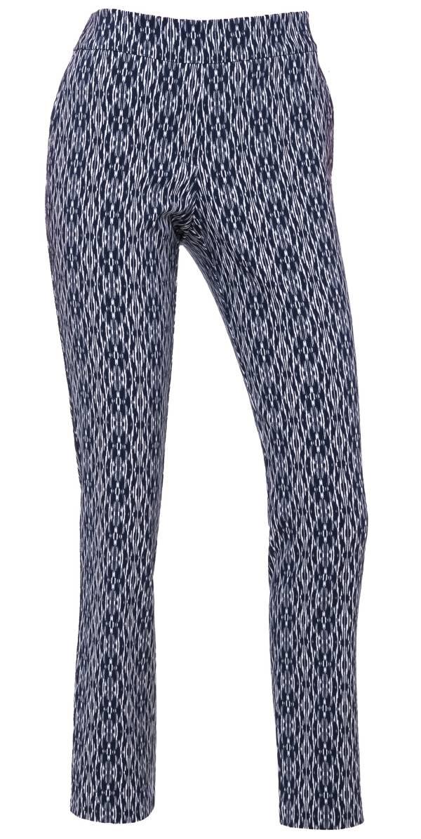EP Pro Women's Bicolor Ikat Print Compression Golf Pants product image