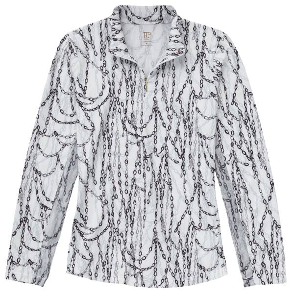 EPNY Women's Chains Print 1/4 Zip Golf Pullover product image