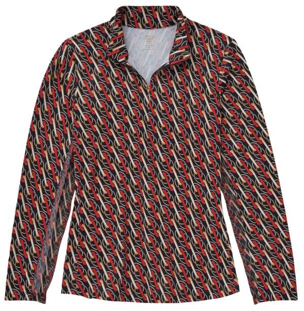 EPNY Women's Ribbon Link Print 1/4 Zip Golf Pullover product image