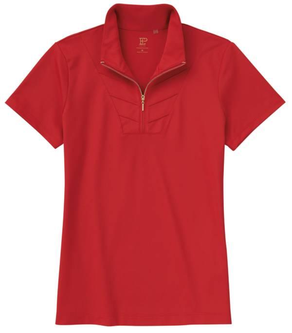 EP Pro Women's Pintuck Zip Collar Golf Polo product image