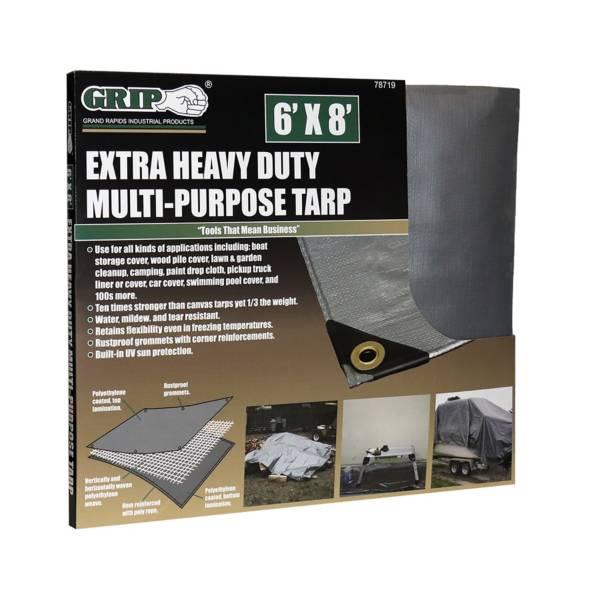 GRIP 6' x 8' Extra Heavy Duty Tarp product image