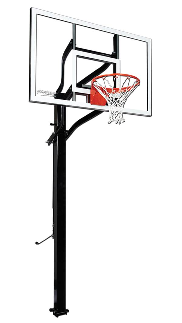 "Goalsetter X560 60"" Extreme Series Glass In-Ground Basketball Hoop product image"
