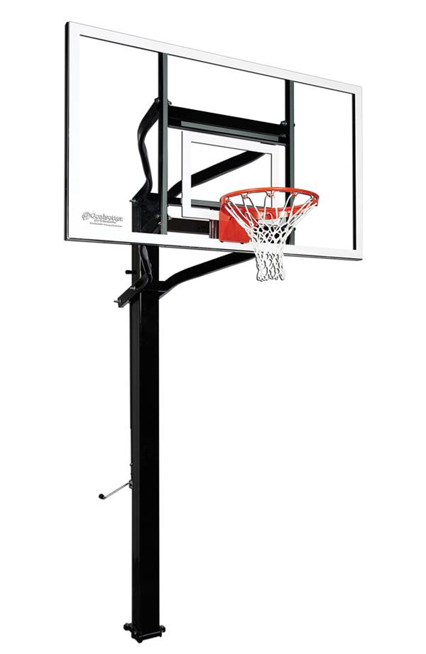 """Goalsetter X672 72"""" Extreme Series Glass In-Ground Basketball Hoop product image"""