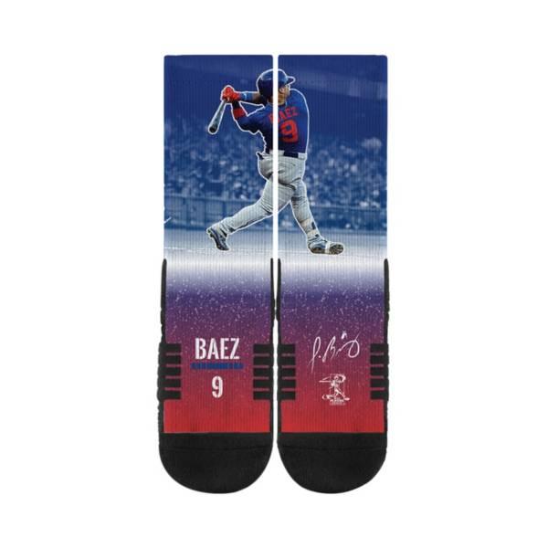 Strideline Chicago Cubs Javier Baez Action Crew Socks product image