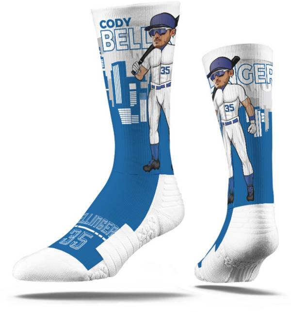 Strideline Los Angeles Dodgers Rick Bell Superhero Crew Socks product image