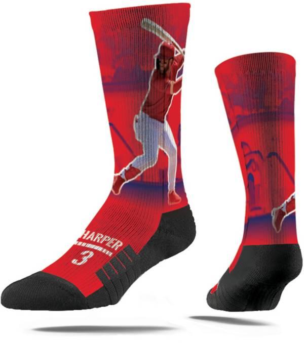 Strideline Philadelphia Phillies Bryce Harper Action Crew Socks product image