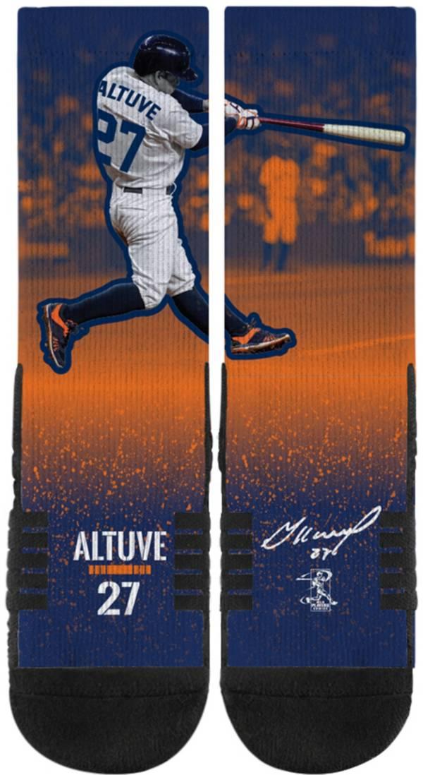Strideline Houston Astros Jose Altuve Action Crew Socks product image