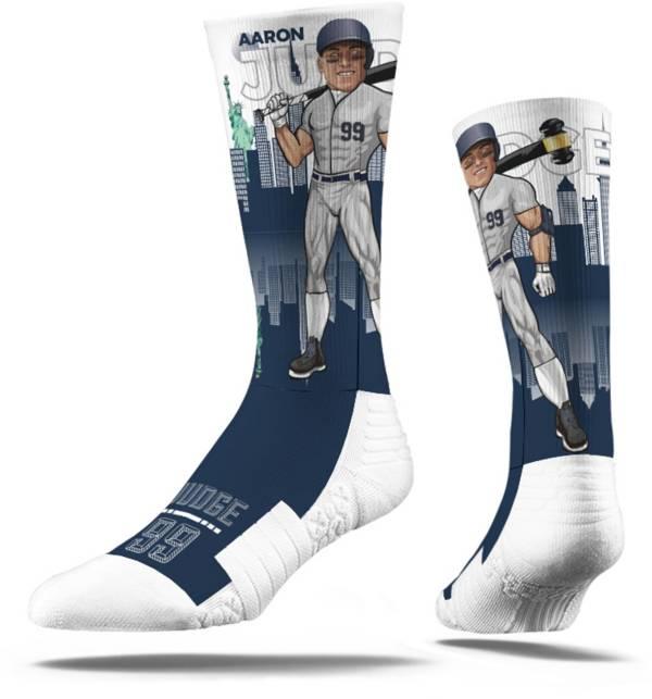 Strideline New York Yankees Aaron Judge Superhero Crew Socks product image