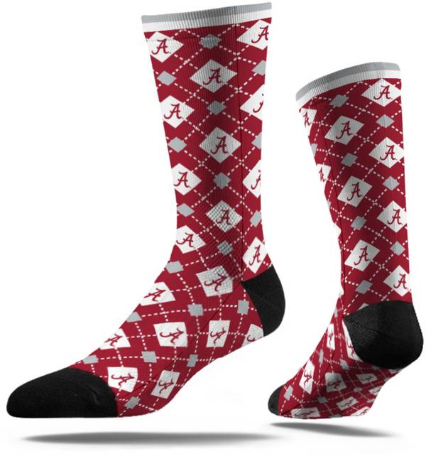 Strideline Alabama Crimson Tide Repeat Crew Socks product image