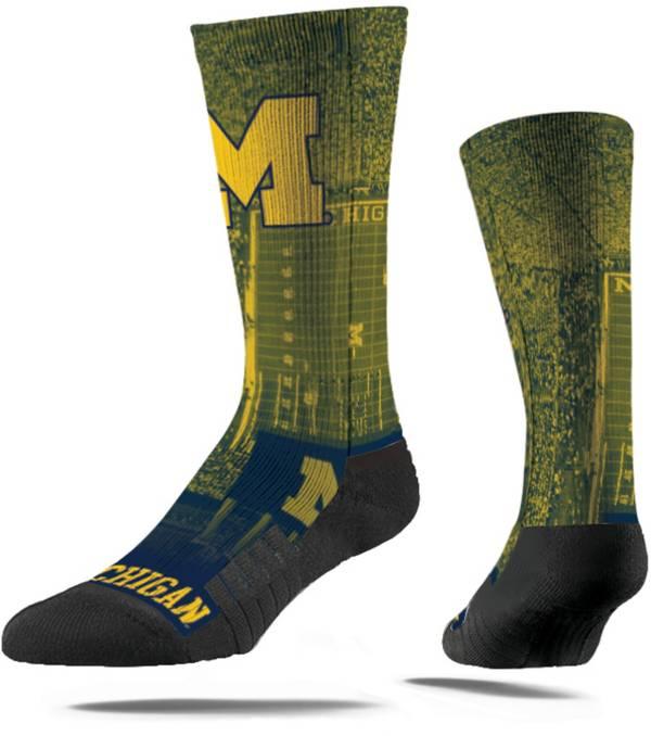 Strideline Michigan Wolverines Mascot Crew Socks product image