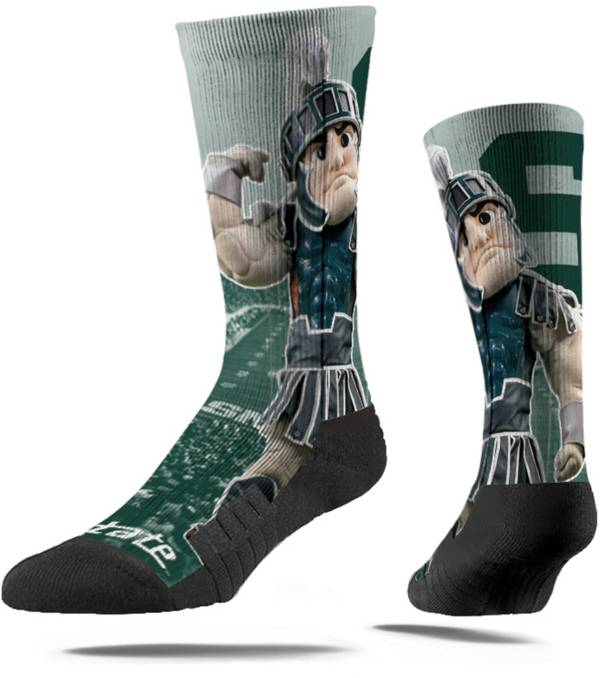 Strideline Michigan State Spartans Mascot Crew Socks product image