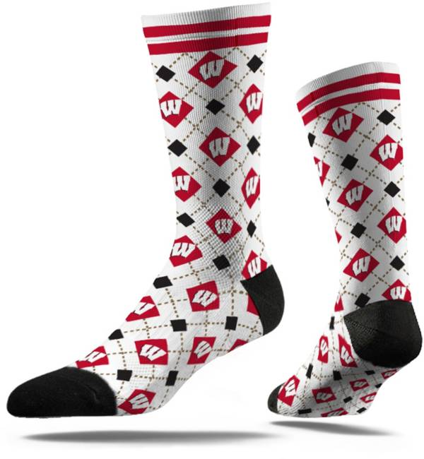 Strideline Wisconsin Badgers Repeat Crew Socks product image