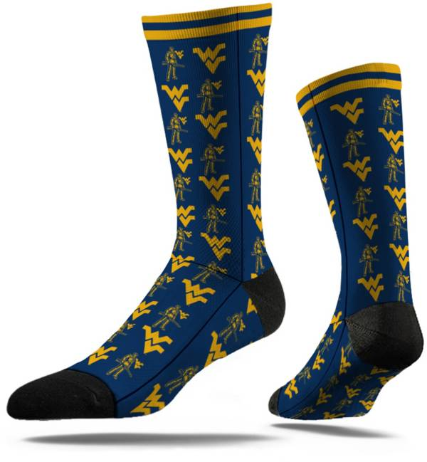 Strideline West Virginia Mountaineers Repeat Crew Socks product image