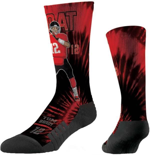 Strideline Tampa Bay Buccaneers Tom Brady Tie Dye Crew Socks product image