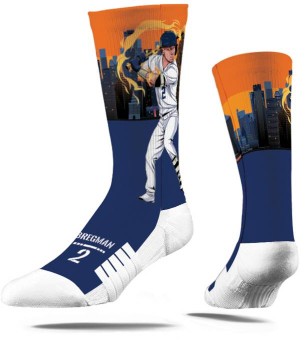 Strideline Youth Houston Astros Alex Bregman Superhero Crew Socks product image