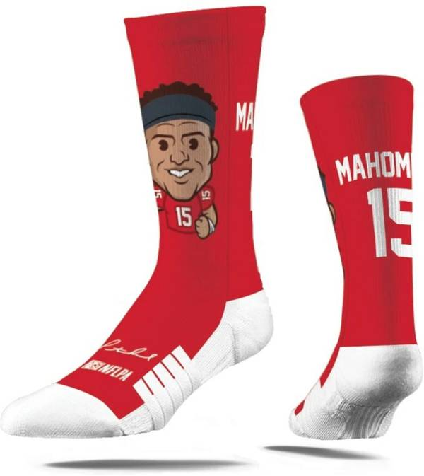 Strideline Youth Kansas City Chiefs Patrick Mahomes Emoji Socks product image