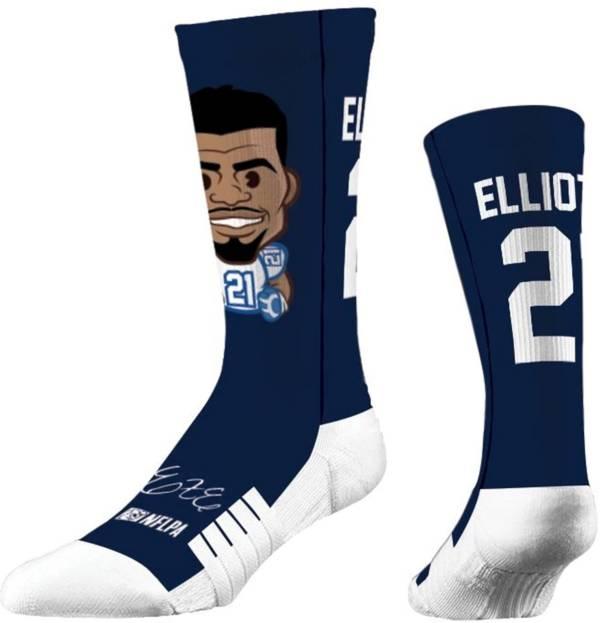 Strideline Youth Dallas Cowboys Ezekiel Elliott Emoji Socks product image