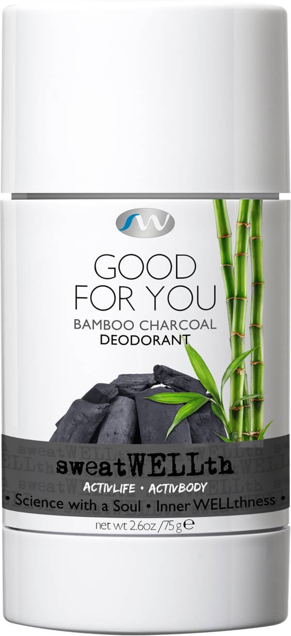 sweatWELLth Good For You Bamboo Charcoal Natural Detox Deodorant product image