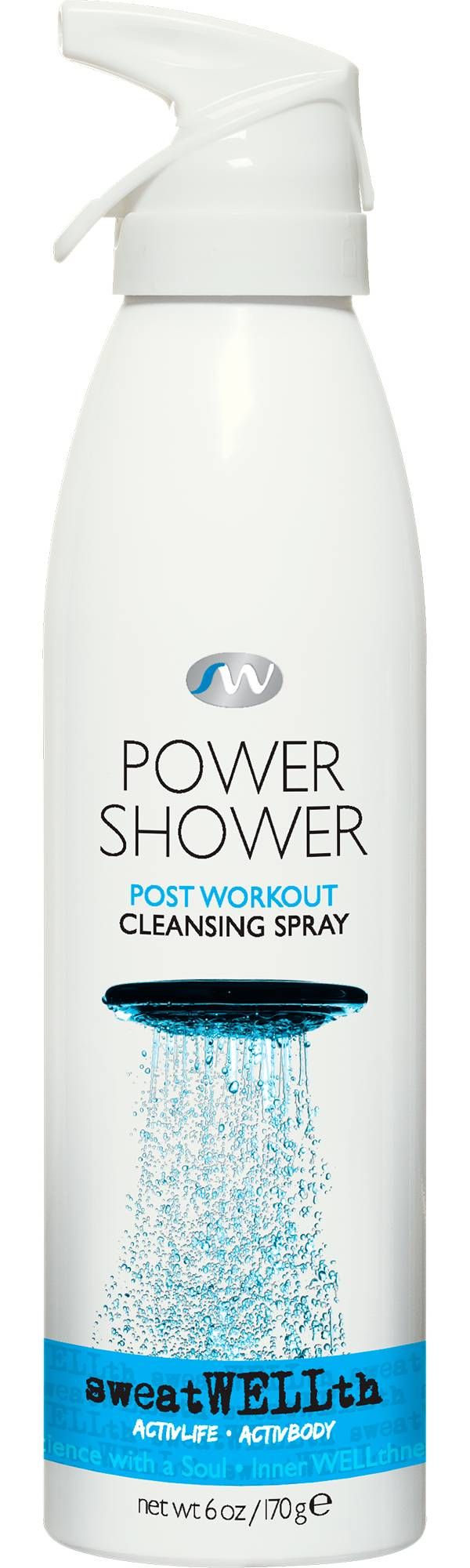 sweatWELLth Power Shower Cleansing Spray product image