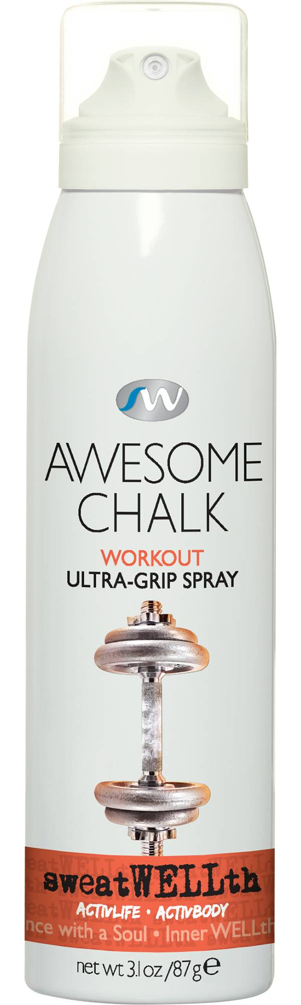sweatWELLth Awesome Chalk Ultra Grip Spray product image