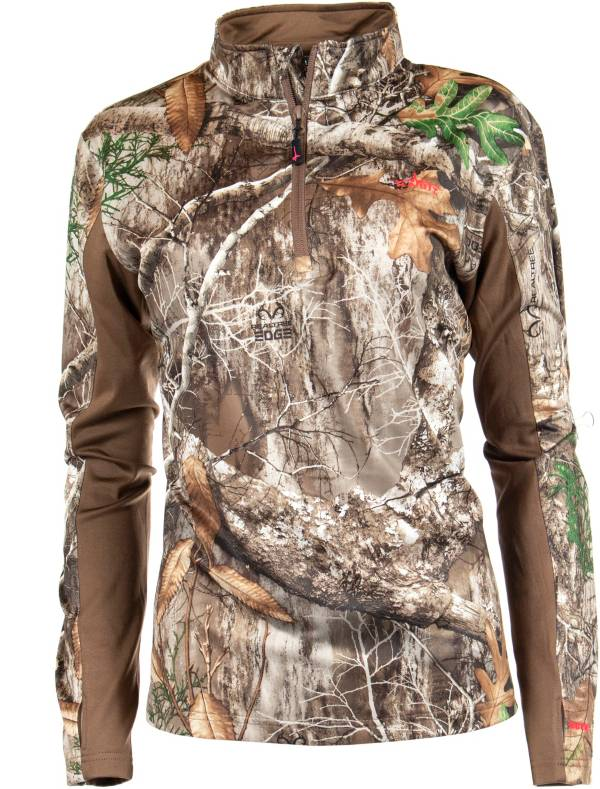 Habit Women's Heims Mountain 1/4 Zip Performance Hunting Pullover product image