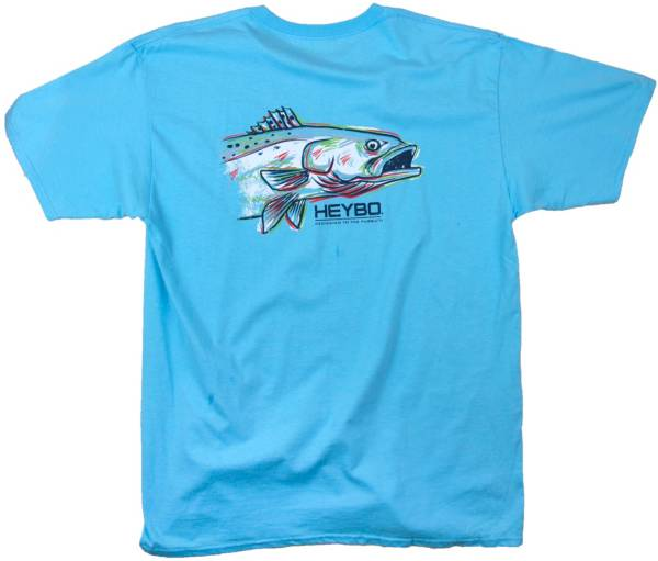 Heybo Men's Painted Sea Trout Short Sleeve T-Shirt product image