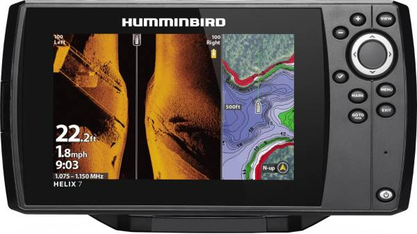 Humminbird Helix 7 CHIRP MEGA SI G3 GPS Fish Finder (410950-1) product image