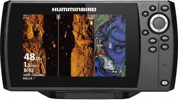 Humminbird Helix 7 CHIRP MEGA SI G3 NAV+ GPS Fish Finder (410950-1NAV) product image