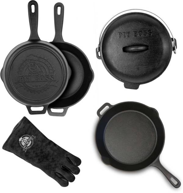Pit Boss 6-Piece Cast Iron Starter Kit product image