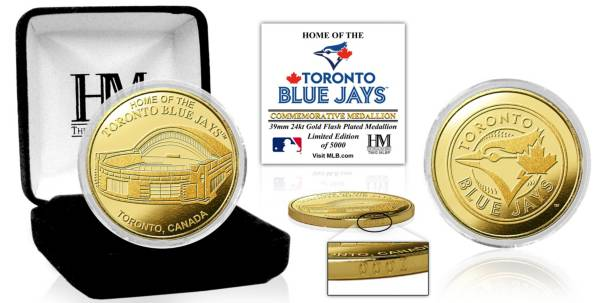 Highland Mint Toronto Blue Jays Stadium Gold Coin product image