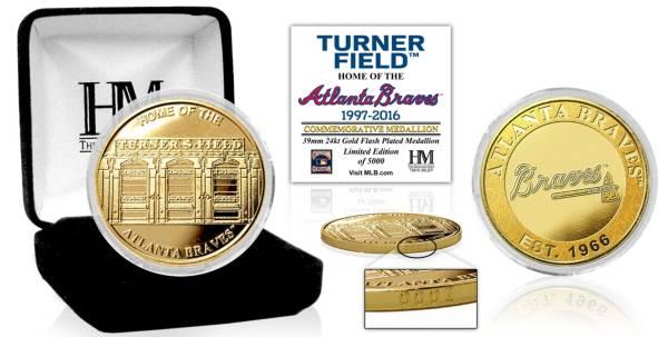 Highland Mint Atlanta Braves Stadium Gold Coin product image