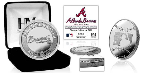 Highland Mint Atlanta Braves Silver Team Coin product image