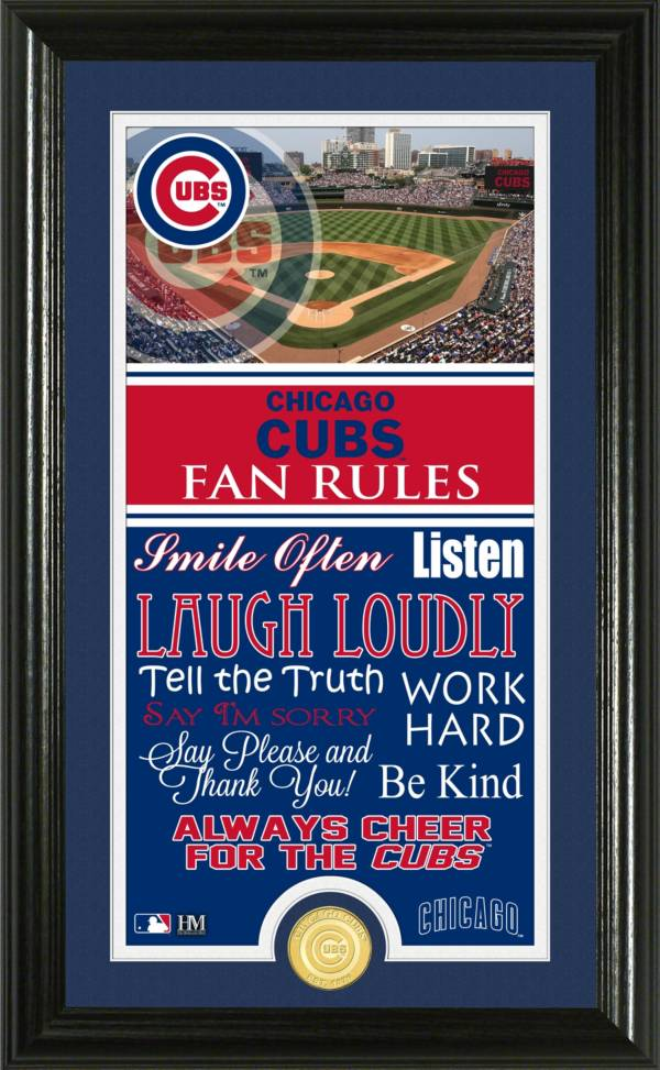 Highland Mint Chicago Cubs Fan Rules Coin Photo Mint product image