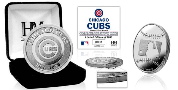 Highland Mint Chicago Cubs Silver Team Coin product image