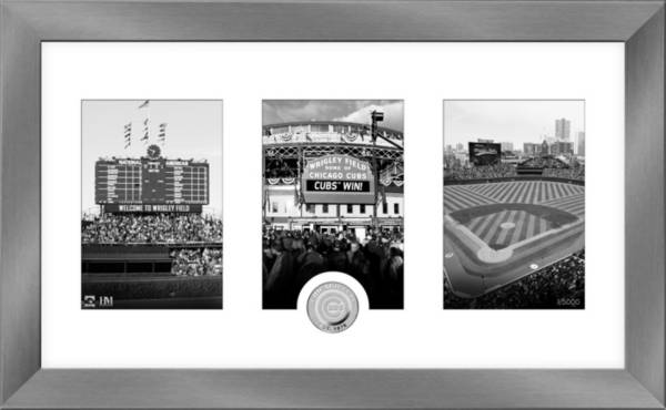 Highland Mint Chicago Cubs Art Deco Silver Coin Photo Mint product image