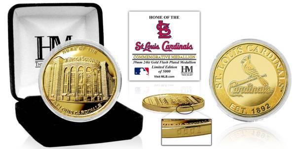 Highland Mint St. Louis Cardinals Stadium Gold Coin product image