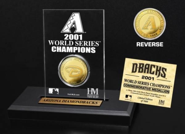 Highland Mint Arizona Diamondbacks Multi Champion Coin Printed Acrylic Display product image