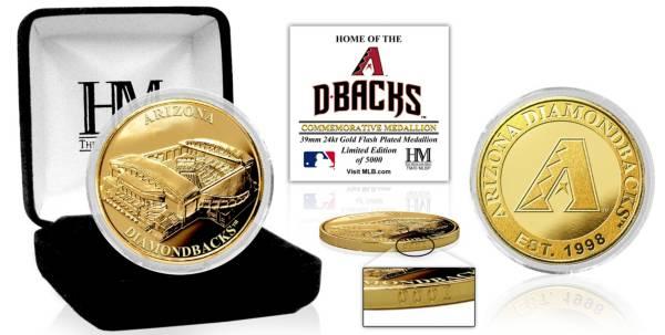 Highland Mint Arizona Diamondbacks Stadium Gold Coin product image