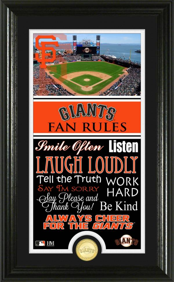 Highland Mint San Francisco Giants Fan Rules Coin Photo Mint product image