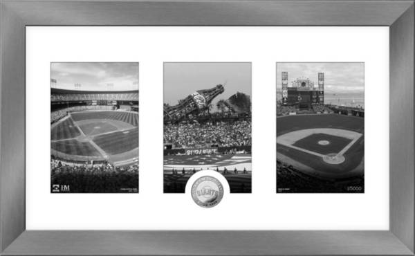 Highland Mint San Francisco Giants Art Deco Silver Coin Photo Mint product image