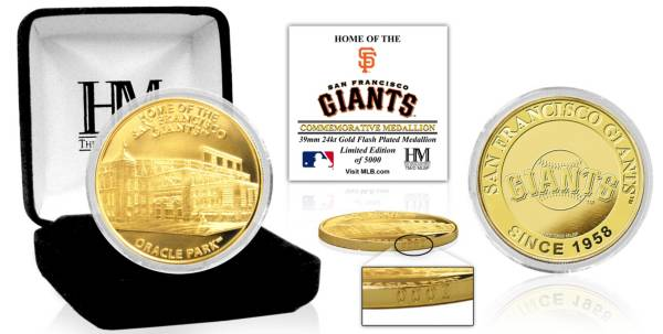 Highland Mint San Francisco Giants Stadium Gold Coin product image