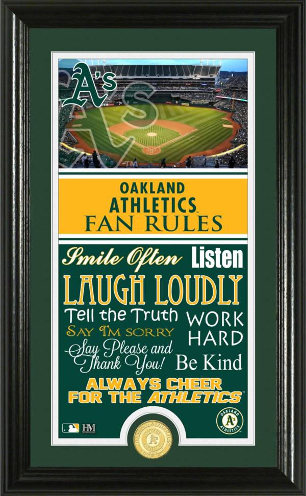 Highland Mint Oakland Athletics Fan Rules Coin Photo Mint product image