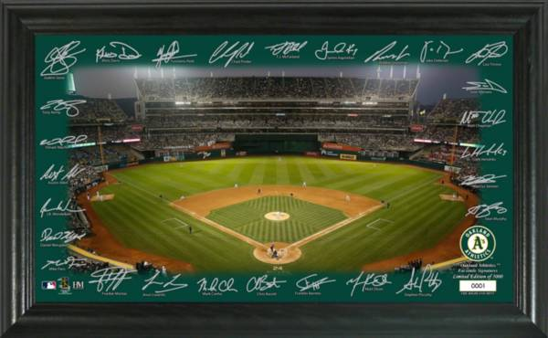 Highland Mint Oakland Athletics 2020 Signature Field Photo Frame product image