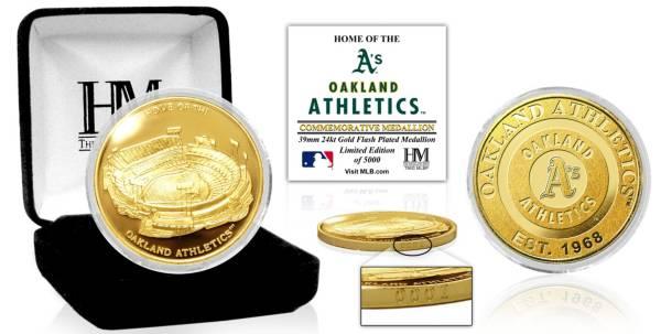 Highland Mint Oakland Athletics Stadium Gold Coin product image