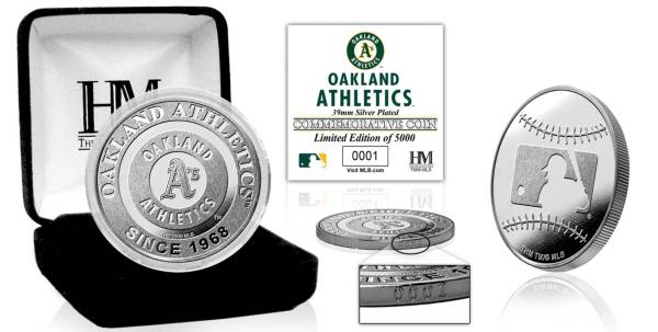 Highland Mint Oakland Athletics Silver Team Coin product image